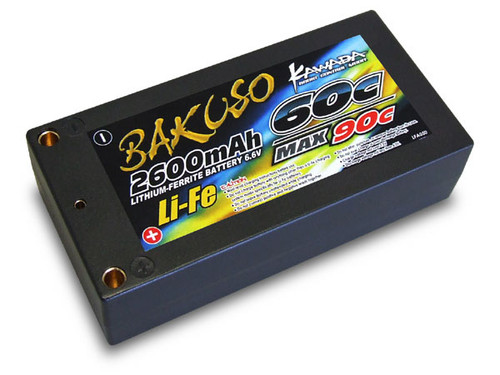 Kawada RC LFA050 Li-Fe Battery 6.6V 2600Mah-60C