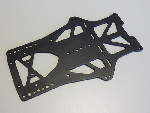 Kawada RC RSG01C Main Chassis 7075For Fx4 V2.1