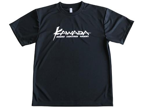 Kawada RC T04101 Kawada T-Shirt Black(Dry) Size=M
