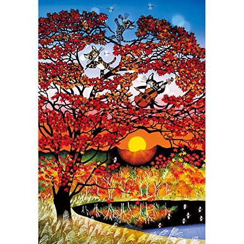 APPLEONE Jigsaw Puzzle 300-345 Maple (Autumnal Tints) Seiji Fujishiro (300 Pieces)