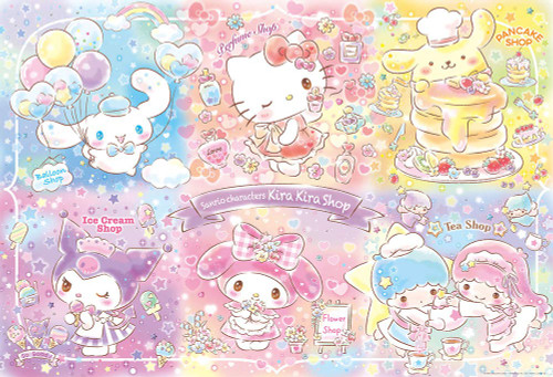 Beverly Jigsaw Puzzle 31-498 Sanrio Characters Kira Kira Shop (1000 Pieces)
