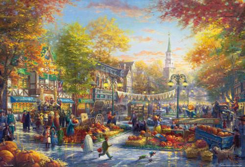 Beverly Jigsaw Puzzle 31-500 Thomas Kinkade Pumpkin Festival (1000 Pieces)