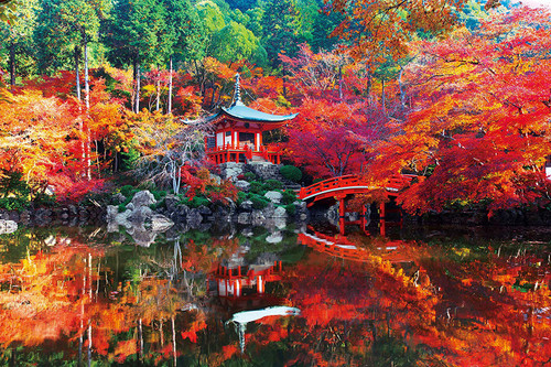 Epoch Jigsaw Puzzle 10-813 Daigoji Temple Autumn Kyoto Japan (1000 Pieces)