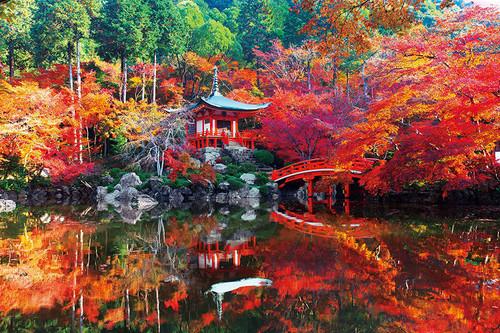Epoch Jigsaw Puzzle 10-813 Daigoji Temple Autumn Kyoto Japan (1000 Pieces)