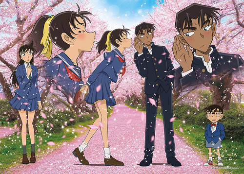 Epoch Jigsaw Puzzle 06-111s Detective Conan Cherry Blossom Season (500 Pieces)