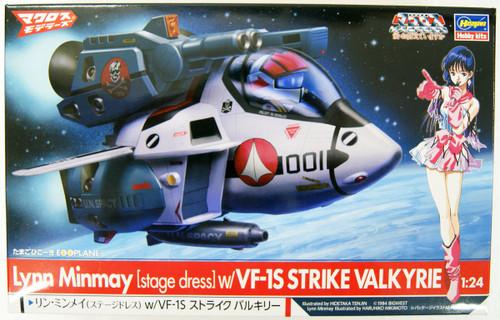 Hasegawa 65863 Lynn Minmay w/VF-1S Strike Valkyrie (Egg Plane) 1/24 Scale Kit