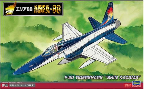 Hasegawa 64771 Area 88 F-20 Tiger Shark Shin Kazama 1/48 Scale Kit