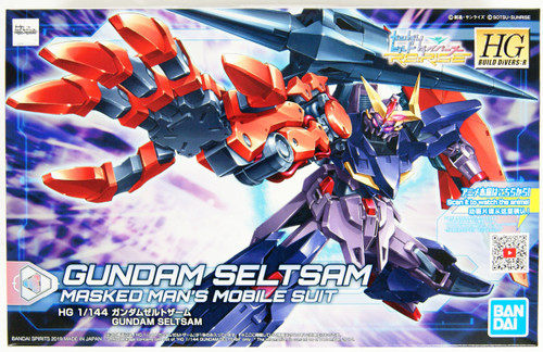 Bandai HG Gundam Build Divers Re:RISE 09 Gundam Zeltzam 1/144 Scale Kit