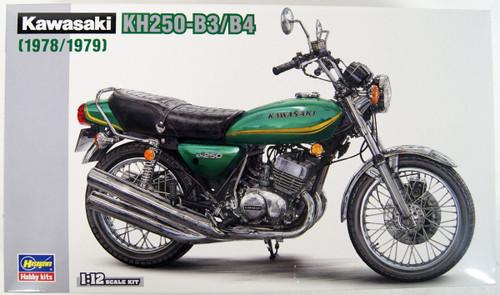 Hasegawa BK8 Kawasaki KH250-B3/B4 1/12 Scale Kit