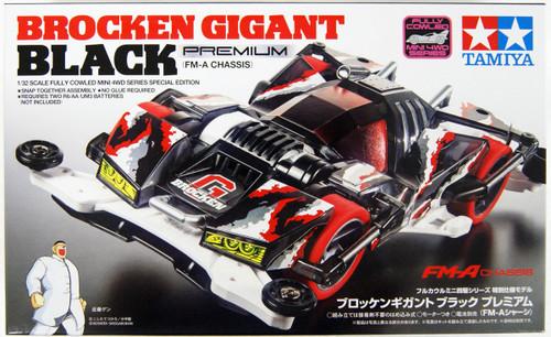 Tamiya 95512 Mini 4WD Brocken Gigant Black Premium (FM-A Chassis)