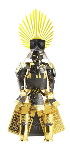 Tenyo Metallic Nano Puzzle T-ME-002M Yoroi (Japanese Armour) Toyotomi Hideyoshi