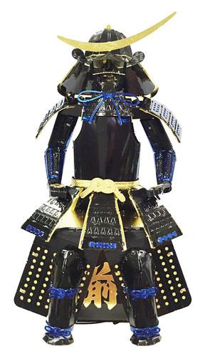 Tenyo Metallic Nano Puzzle T-ME-004M Yoroi (Japanese Armour) Date Masamune