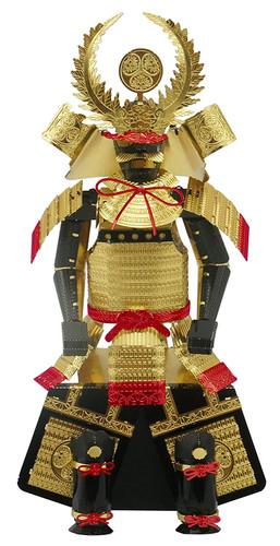 Tenyo Metallic Nano Puzzle T-ME-005M Yoroi (Japanese Armour) Tokugawa Ieyasu