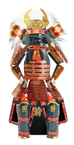 Tenyo Metallic Nano Puzzle T-ME-006M Yoroi (Japanese Armour) Takeda Shingen