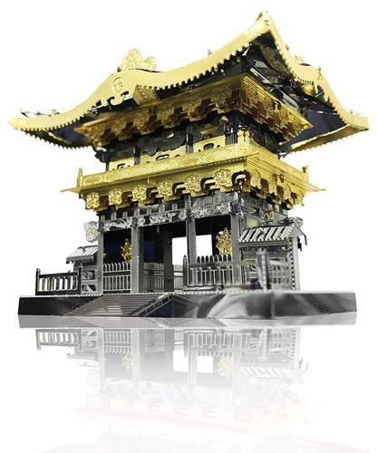 Tenyo Metallic Nano Puzzle T-ME-008M Nikko Toshogu Shrine Yomeimon