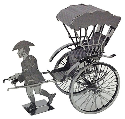 Tenyo Metallic Nano Puzzle T-MN-070 Rickshaw