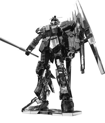 Tenyo Metallic Nano Puzzle TMPG-09 Mobile Suit RX-93 v (nu) Gundam