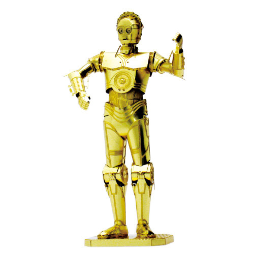 Tenyo Metallic Nano Puzzle W-MN-017 Star Wars C-3PO