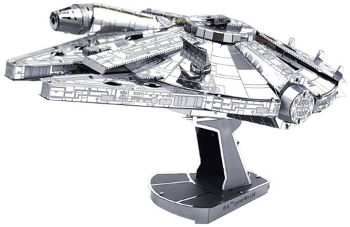 Tenyo Metallic Nano Puzzle W-MP-001 Star Wars Millennium Falcon