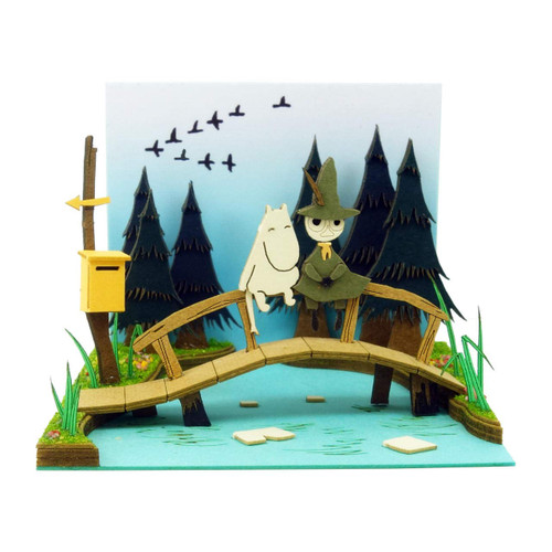 Sankei MP09-06 Moomin Mini Moominvalley River Non-Scale