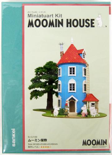 Sankei MK09-01 Moomin Series Moomin House 1/150 scale