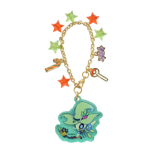 Pokemon Center Original Acrylic Charm Halloween Festival! Celebi