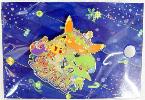 Pokemon Center Original Logo Pins Halloween Festival!