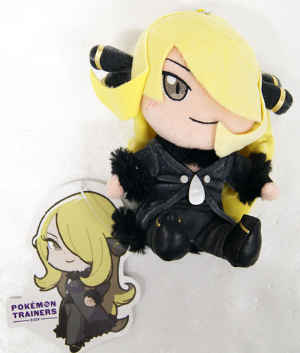 Pokemon Center Original Plush Doll Pokemon Trainers Cynthia