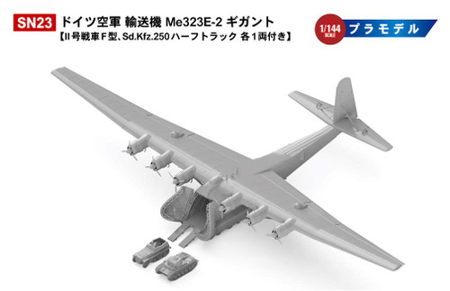 Pit-Road Skywave SN23 German Military Transport Aircraft Me323E-2 Gigant 1/144 scale kit