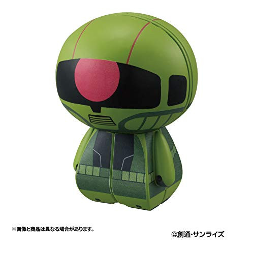 MegaHouse Charaction CUBE Mobile Suit Gundam MS-06F ZAKU II