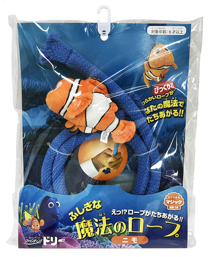 Tenyo Japan 117255 Finding Dory Magical Rope with Nemo (Magic Trick)