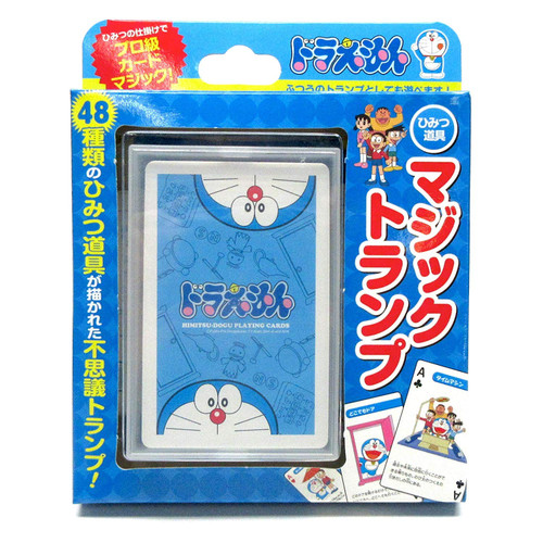 Tenyo Japan 117200 Doraemon Secret Gadget Magical Playing Cards (Magic Trick)