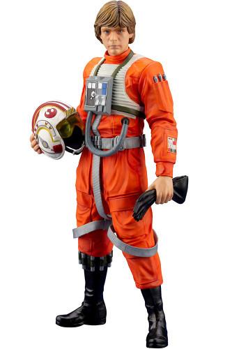 Kotobukiya SW163 ARTFX+ Luke Skywalker X-Wing Pilot 1/10 Scale Figure (Star Wars)