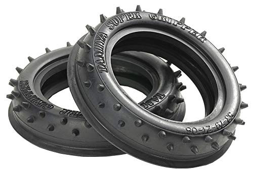 Tamiya 54896 (OP1896) 2WD Rib-Spike Front Tires (60/14)