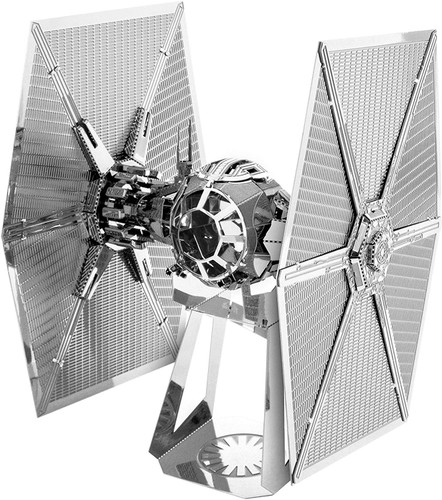 Tenyo Metallic Nano Puzzle W-MN-016 Star Wars First Order Special Force TIE Fighter