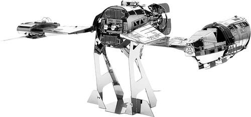 Tenyo Metallic Nano Puzzle W-MN-025 Star Wars The Last Jedi Resistance Ski Speeder