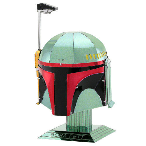 Tenyo Metallic Nano Puzzle W-ME-030M Star Wars Boba Fett Helmet