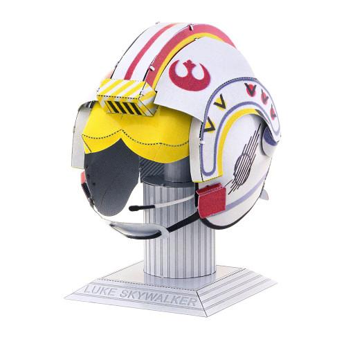 Tenyo Metallic Nano Puzzle W-ME-033M Star Wars Luke Skywalker Helmet