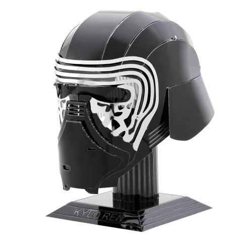 Tenyo Metallic Nano Puzzle W-ME-034M Star Wars Kylo Ren Helmet