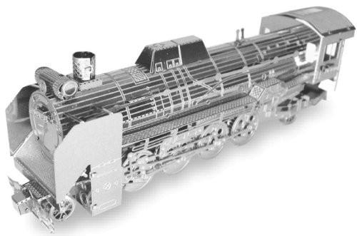 Tenyo Metallic Nano Puzzle T-MN-20 D51-498 Steam Locomotive