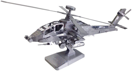 Tenyo Metallic Nano Puzzle T-MN-60 Apache Longbow