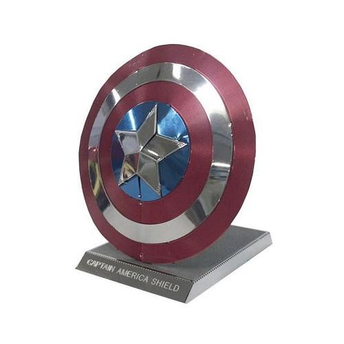 Tenyo Metallic Nano Puzzle R-ME-02M Captain America Shield