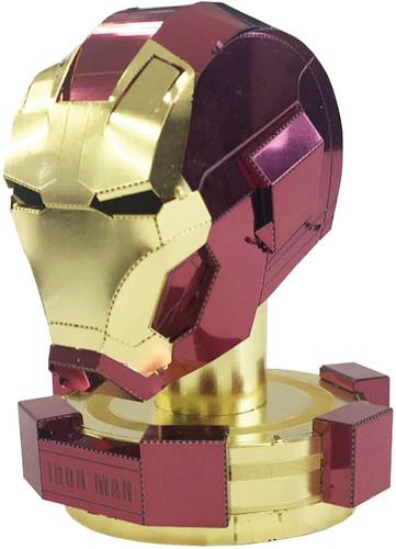 Tenyo Metallic Nano Puzzle R-ME-03M Iron Man Helmet
