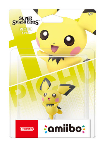 Nintendo amiibo Pichu (Super Smash Bros Ultimate)