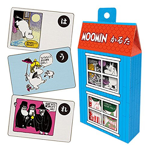 Ensky 379445 Japanese Playing Cards (Karuta) The Moomins