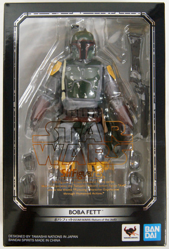 Bandai S.H. Figuarts Boba Fett Figure (Star Wars: Return of the Jedi)