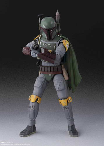 Bandai S.H. Figuarts Boba Fett Figure (Star Wars: Return of the Jedi)