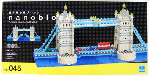Kawada NB-045 nanoblock Tower Bridge Deluxe Edition