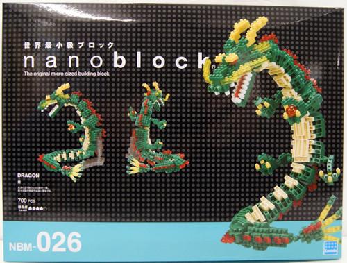 Kawada NBM-026 nanoblock Dragon