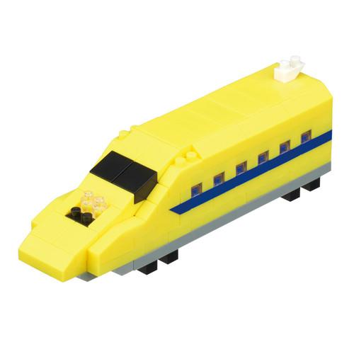 Kawada nGT_018 nanoblock 923 Shinkansen Test Vehicle Doctor Yellow
